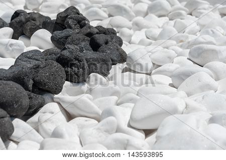 Black and white stone texture for your background