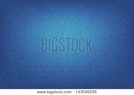 Abstract Denim Texture Fabric.