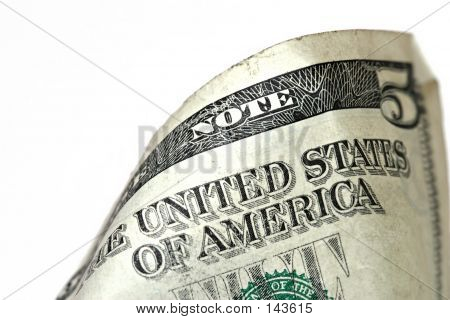 Five Dollar Bill Macro, Grunge Look