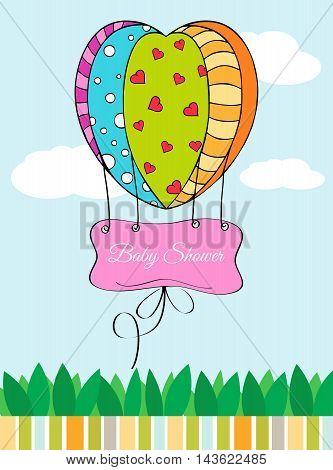 Beautiful Baby Shower Card