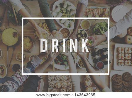 Drink Drinking Beverage Health Hydrate Thirst Concept