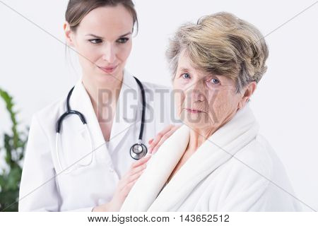 Afraid Of Her Medical Condition