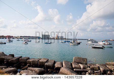 26 july 2016-vibo marina-italy-The beautiful marina of the city of vibo Marina in Calabriaitaly