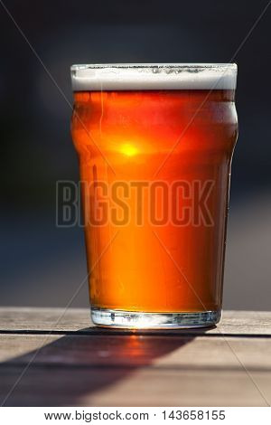 an image of beer purity. beer is fresh with excellent texture. a picture that is more than words