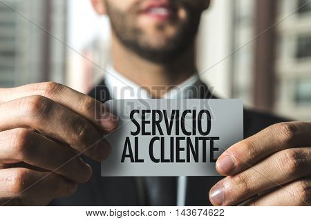 Customer Service (in Spanish)