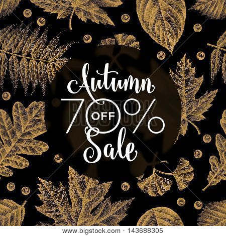 Etching Leaves Sale_07.eps
