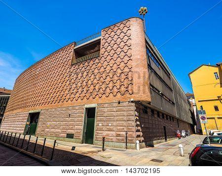 Teatro Regio Royal Theatre In Turin (hdr)