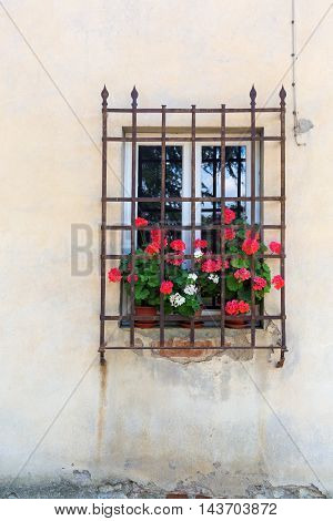 Window At A House In Italy