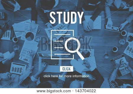 Study Results Research Investigation Discovery Concept