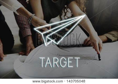 Business Start up Strategy Launch Concept