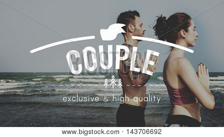 Couple Care Like Love Passion Romance Affection Concept