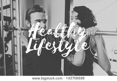 Healthy Lifestyle Wellness Vitality Exercise Concept