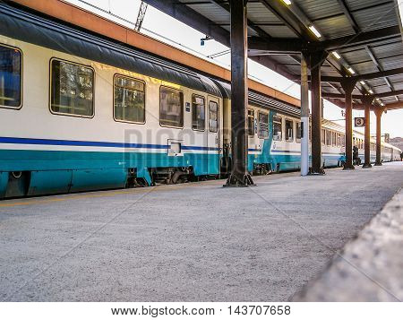 Train At A Station (hdr)