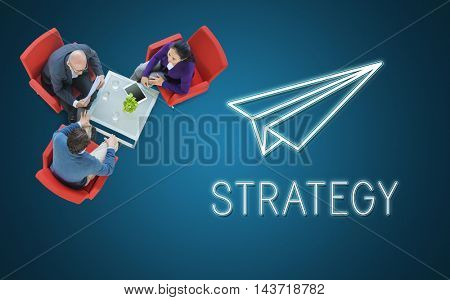 Launch Business Mission Start up Begin Mission Concept