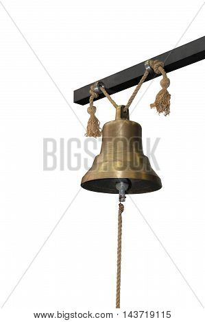 Bell Isolated On White Background.
