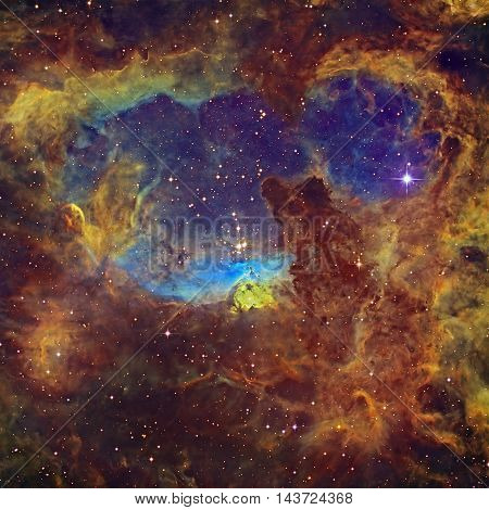 Massive Stars In The Constellation Scorpius.