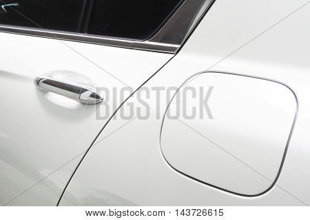white pure surface of car texture background.
