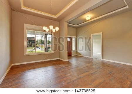 Entrance Hall Of Brand New House.
