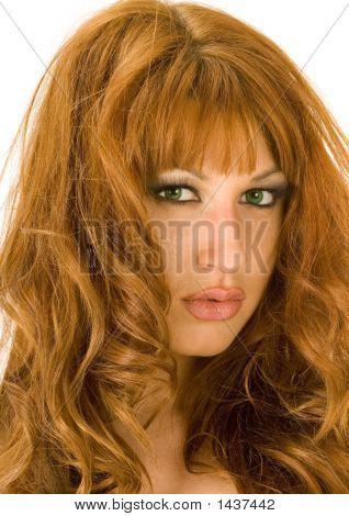 Beautiful Redheaded Woman Portrait 4