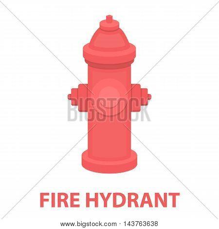 Hydrant vector illustration icon in cartoon design