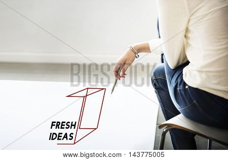 Thinking Out Of The Box Concept