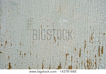 Texture Of Old Cracked Paint
