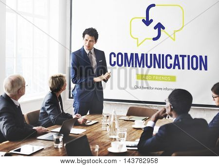 Business Team Communication Concept