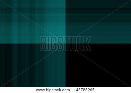 Illustration of blue and black smudged squares
