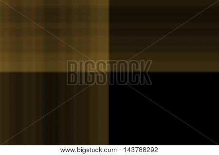 Illustration of golden and black smudged squares