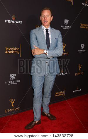 LOS ANGELES - AUG 22:  Carson Kressley at the Television Academy's Performers Peer Group Celebration at the Montage Hotel on August 22, 2016 in Beverly Hills, CA