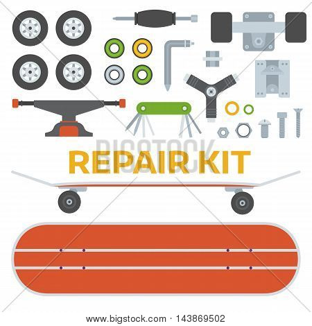 Skateboarding Repairs Kit