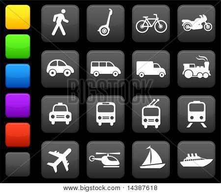 Original Vektor-Illustration: Transportation Icons design-Elemente