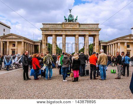 Brandenburger Tor Berlin (hdr)
