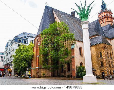Nikolaikirche Leipzig (hdr)
