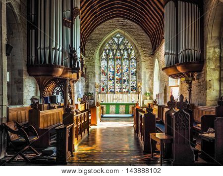St Mary Magdalene Church In Tanworth In Arden (hdr)