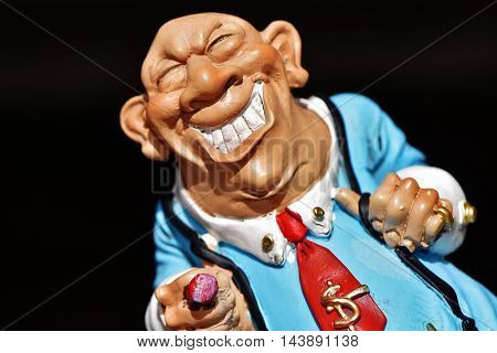 beautiful picture of a businessman . impressive detail . Download now. a businessman toy exceptional