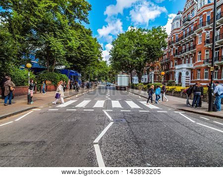 Abbey Road London Uk (hdr)