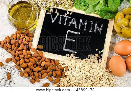 Foods High In A Vitamin E.