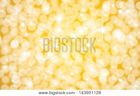 Abstract Bokeh Background With Blur Style. It Looks Bright And Glittering. You Can Apply For Wallpap