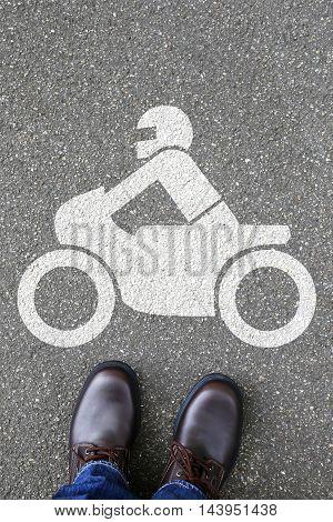 Man People Motorcycle Motorbike Rider Motor Bike Traffic