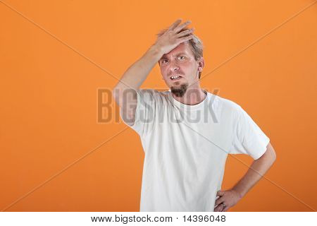 Tense Man