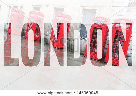 London Postcard Word