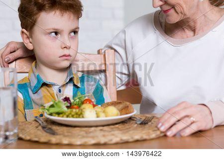 Having Poor Vegetables Appetite