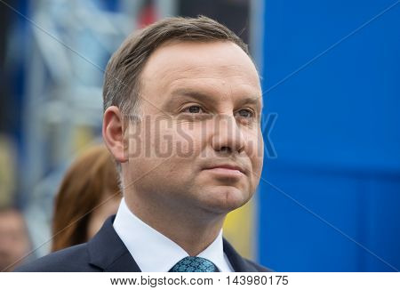 President Of The Republic Of Poland Andrzej Duda