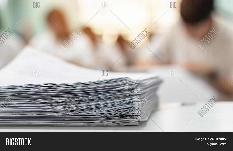 Exam Answer Sheet Image & Photo (Free Trial)   Bigstock