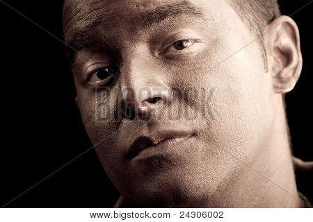 Serious Face Portrait