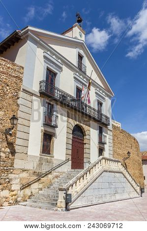 Historic Building Archivo Historico Provincial De Leon In Spain