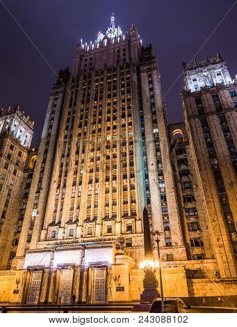Ministry Of Foreign Affairs Of The Russian Federation Building