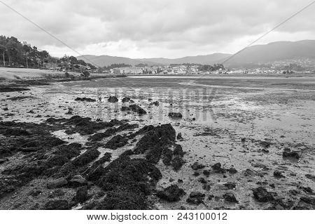Low Tide In Foz Estuary In Ramallosa