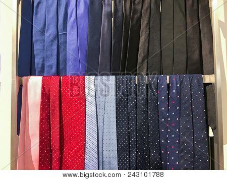 Tie Shelf in shop